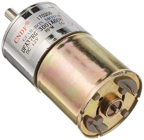 13.14kg.cm Torque 2 Terminal Magnetic Gear Motor 10RPM 12V DC