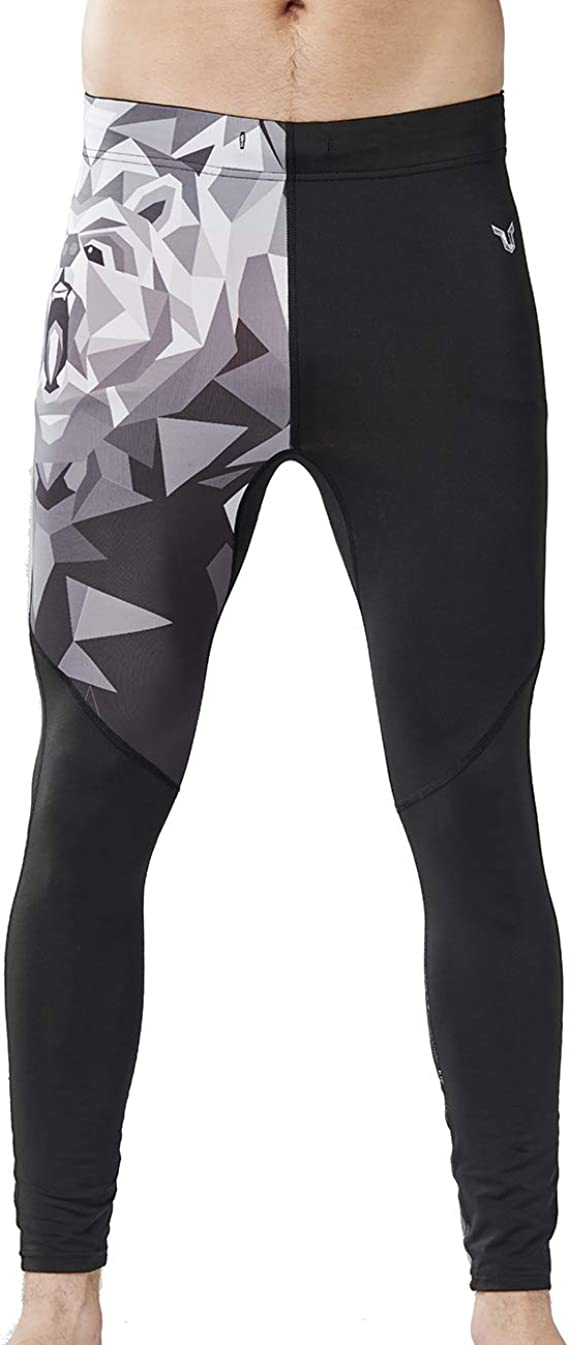 Amazon.com: HUGE SPORTS Men's Compression Pants Baselayer Cool Dry Sports Tights Workout Leggings: Clothing