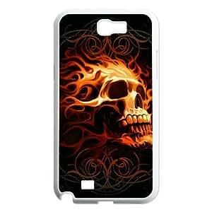 Skull Avatar Custom Case for Samsung Galaxy Note 2 N7100, Personalized Skull Avatar Case