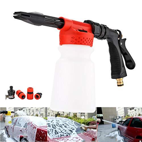 - CPROSP Wash Gun Car Foam Gun, Cleaning Sprayer, Car Washer, 2 in 1 Foam Blaster with 900ml Bottle,for Van Motorcycle Vehicle