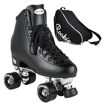 d4dd2db465f Rookie Classic II Black Quad Roller Skates With Skate Bag - By Oli's (UK 5