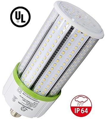 40 Watt E39 LED Bulb - 4,800 Lumens - 3000K / 2700K -Replacement for Metal Halide, HID or CFL - High Efficiency 130 Lumen/ watt - 360 Degree Lighting - LED Corn Light Bulb