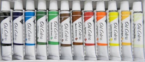 oil-colors-complete-set-of-12-tubes-12ml-each-oil-paint-art-supplies-new