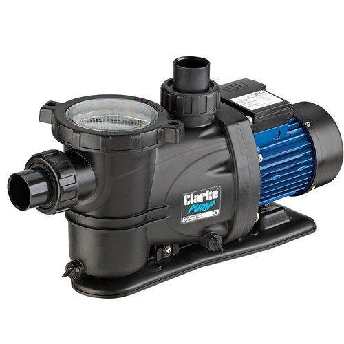 CLARKE 600 watts 3/4 HP SELF PRIMING SWIMMING POOL PUMP 230 volt