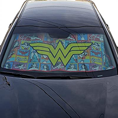 Wonder Women Auto Sun Shade Universal Size Fit 58