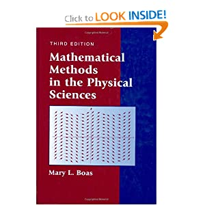 Mathematical Methods in the Physical Sciences Mary L. Boas