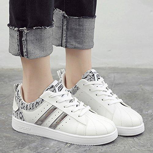 GUNAINDMX Schuhes/Sports   Weiß Leder/Schuhes/Schuhes/Spring/All-Match/Retro Schuhes/Sports GUNAINDMX 005 Weiß c34d27