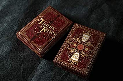 Amazon.com: Steve Minty Thorns and Roses Cartas de juego ...
