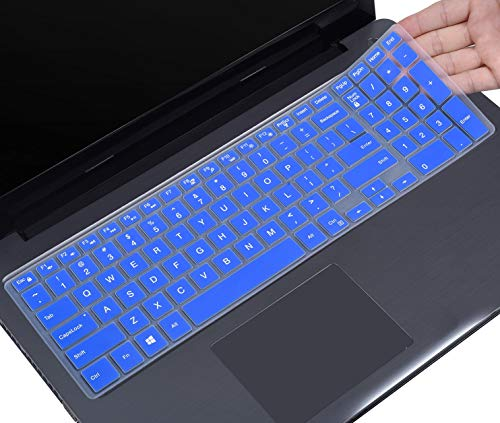 """Color Keyboard Skin Cover Protector For 15.6/"""" Dell Inspiron 15 5000 15-5555 5559"""