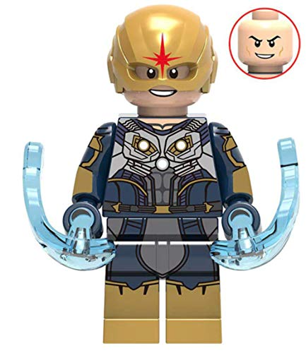 Nova Marvel Guardians of The Galaxy Webs Superhero Mini Action Figure Comic Book Character Movie Nova Corp]()