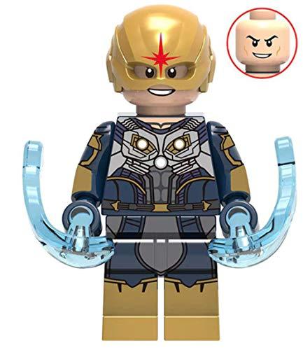 Nova Marvel Guardians of The Galaxy Webs Superhero Mini Action Figure Comic Book Character Movie Nova Corp -