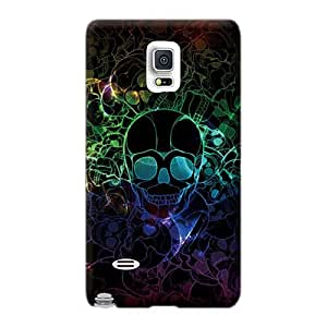 LisaSwinburnson Sumsang Galaxy Note 4 Anti-Scratch Hard Cell-phone Cases Support Personal Customs Fashion Metallica Skin [esv18074rJZq]
