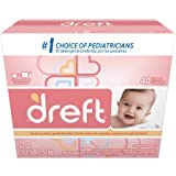 53 oz Dreft Baby Original Scent Powder Household Supplies Laundry Detergent, 40 Loads