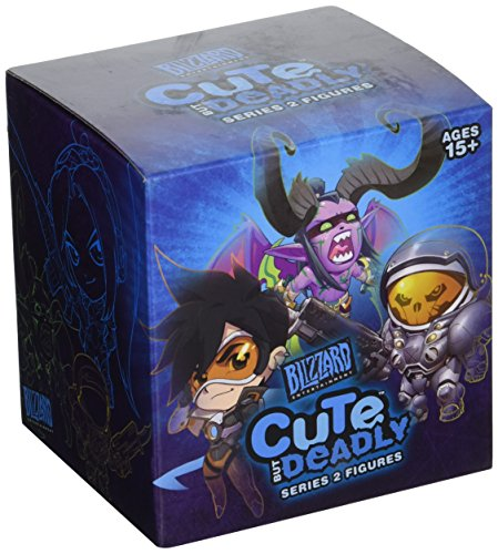 Cute But Deadly, Series 2, Vinyl Figure Blind Box Contains 1 Random Figure From Overwatch , Diablo , World Of Warcraft or Starcraft