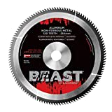 Lackmond Aluminum / Non-Ferrous Metal Saw Blade - 12'' Metal Cutting Tool with Triple Chip Grind for Smooth Chip Free Cuts & 1'' - MNFMB12120