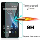 For Doogee X5 , Leathlux Premium Tempered Glass Ultra HD Slim [0.26 mm] Anti-Scratch Clear Film Screen Protector Cover for Doogee X5 5.0""