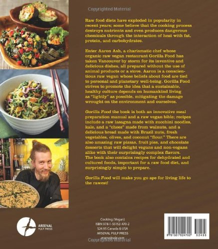 Gorilla food living and eating organic vegan and raw aaron ash gorilla food living and eating organic vegan and raw aaron ash 9781551524702 amazon books forumfinder Gallery
