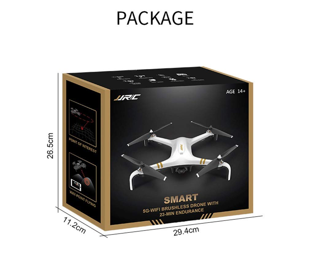 MOZATE JJRC X7 5G-WiFi FPV GPS 1080P HD Camera Remote RC Drone Quadcopter Altitude Hold (Black) by MOZATE (Image #9)