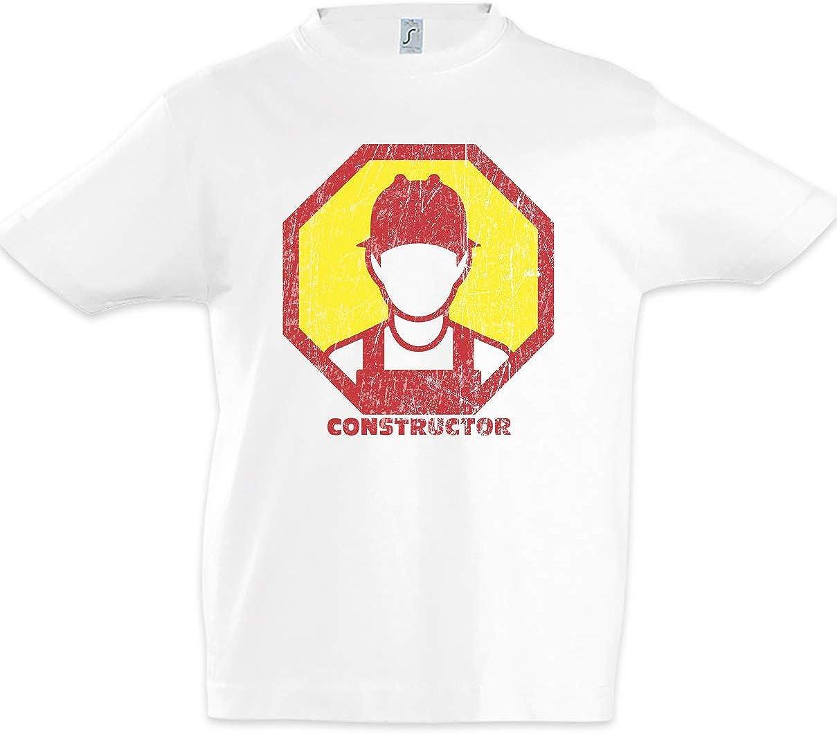 Urban Backwoods Constructor II Kids Boys Children T-Shirt