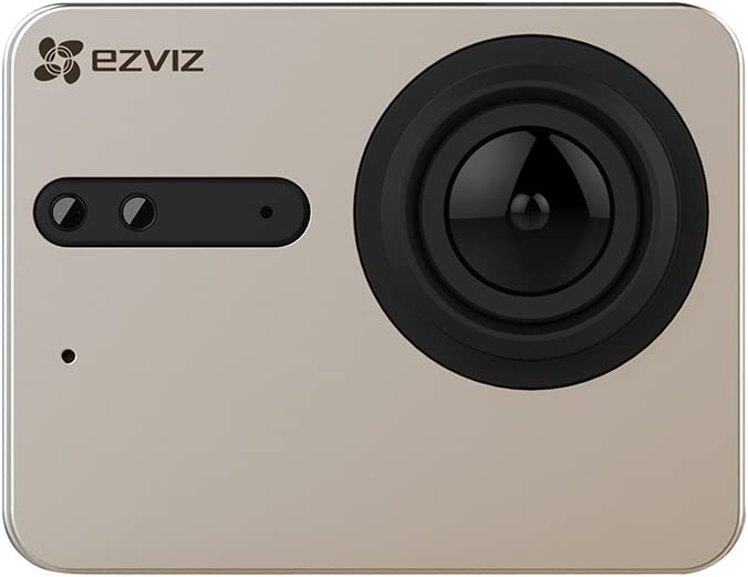 EZVIZ S3 Action Camera risoluzione 4K full HD video display touch colore GRIGIO