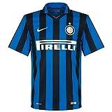 Nike Inter Milan 2015/2016 Home Stadium Soccer Jersey (Royal Blue, Black) X-Large