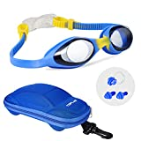 TOPLUS Kids Goggles, Goggles Kids Swim Goggles Anti-Fog Leak Proof Kids Goggles for Swimming – Soft Silicone and Clear Vision Toddler Goggles Youth