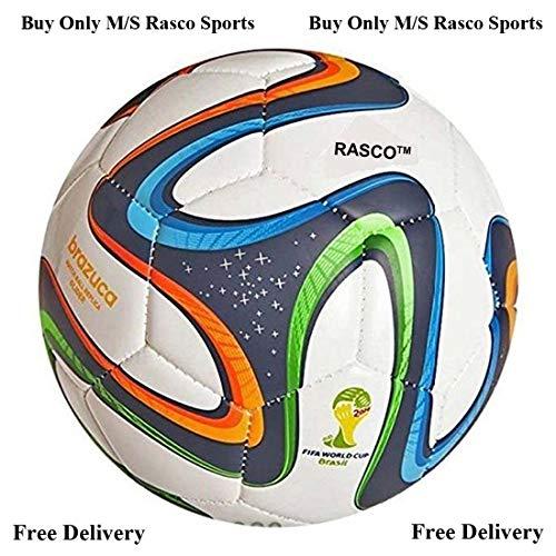 ALKA RASCO Brazuca 32 Panel Hand Stitched Football  Size 5