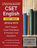 #10: CSET English Test Prep 2018 & 2019: CSET English Exam Prep Book & Practice Test Questions