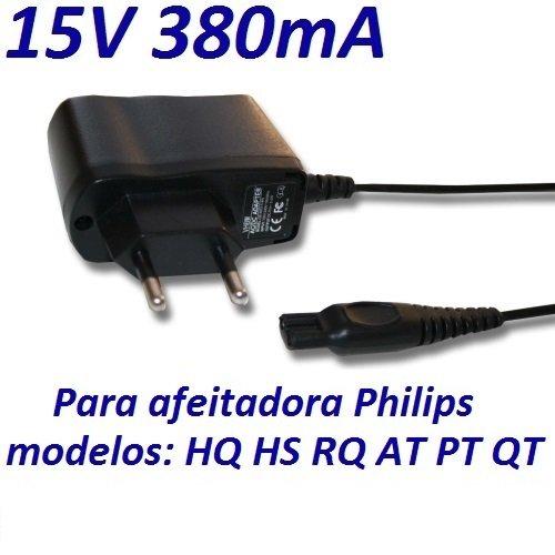 Cargador Corriente 15V Reemplazo Afeitadora Philips YS521 Recambio Replacement CARGADOR ESP