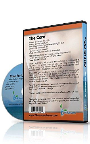 24Seven Wellness & Living The Ultimate Core and Lower Back Relief Program DVD By Pilates Based Abdominal Exercises Developed to Provide Lower Back Pain Relief Through Strong and Powerful Abs.