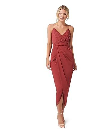 03da319abc6 Ever New Womens Charlotte Drape Maxi Dress at Amazon Women s ...