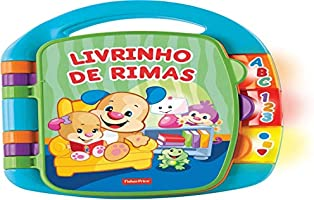 Fisher-Price Livro de Rimas, Mattel, Multicor