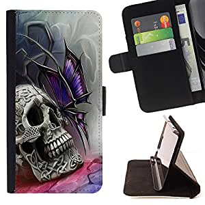 - California Summer - - Style PU Leather Case Wallet Flip Stand Flap Closure Cover FOR Sony Xperia Z1 Compact D5503 - Devil Case -