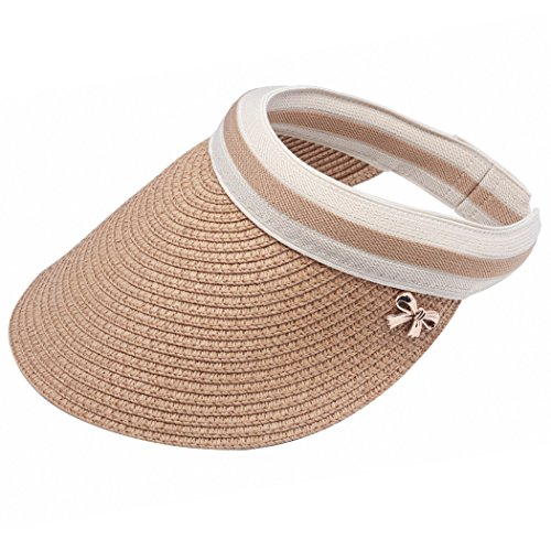 Women Shade Cap Empty Top Chapeau Sunscreen Hat Beach Hats Sun Visor Caps -  Buy Online in Oman.  7454b55a28e3