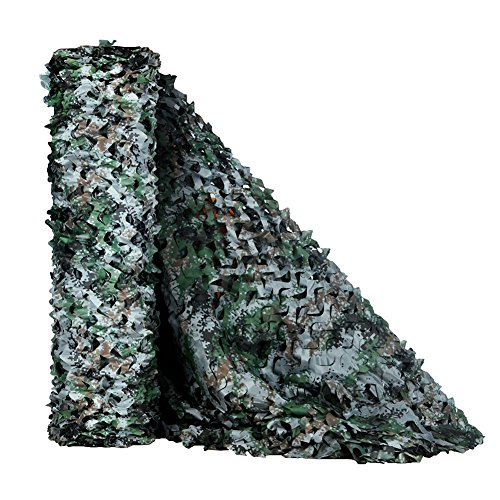 HYOUT Camouflage Netting, Camo Net Blinds Great For Sunshade Camping Shooting Hunting etc.