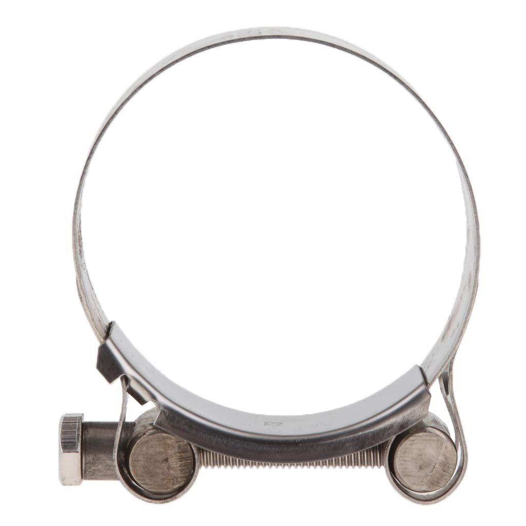 56-59mm KESOTO Fascette Stringitubo Clip Staffa Supporto Tubo Marmitta Silenziatore Moto