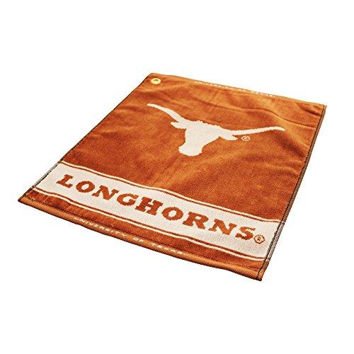 NCAA Texas Longhorns Jacquard Woven Golf Towel
