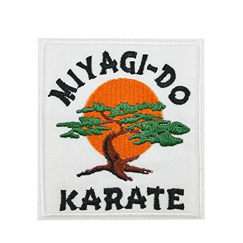 Miyagi-DO Karate Bonsai Tree Embroidered Iron on sew on Patch Applique
