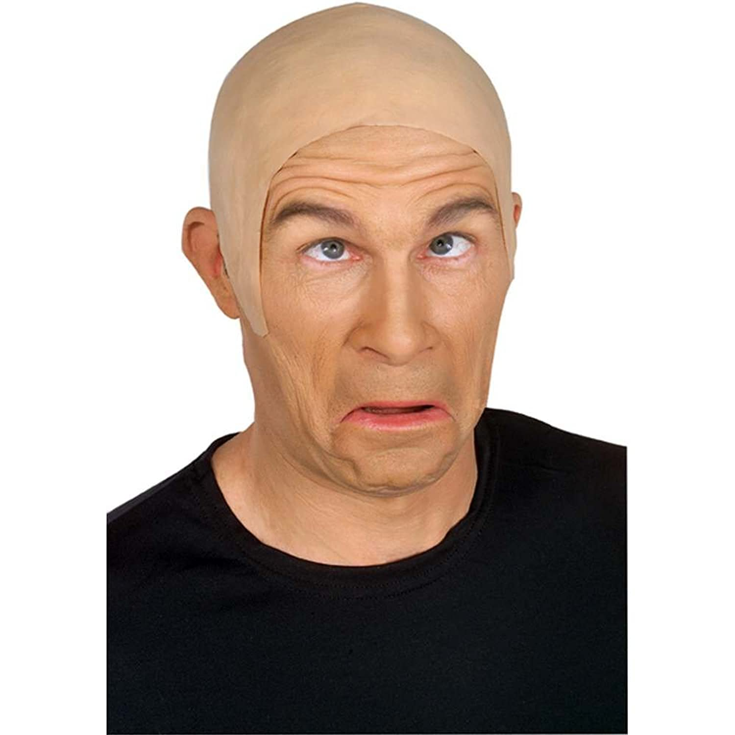 Rubies Skin Head Bald Cap Adult - Flesh Color