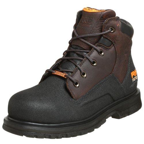 "Timberland PRO Men's 47001 Power Welt Waterproof 6"" Steel-Toe Boot,Brown/Brown,12 M TB047001242"