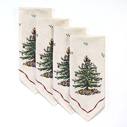- Spode Christmas Tree by Avanti Napkins (Set of 4)
