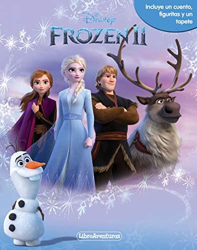 Frozen 2. Libroaventuras: Incluye un cuento, figuritas y un tapete por Disney