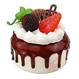 Set of 2 Artificial Cake Fake Cake Model Photography Props, Fruit