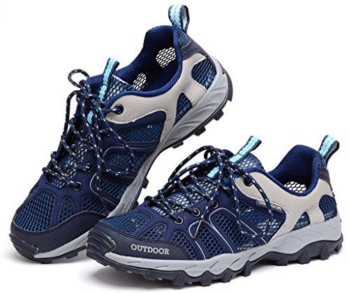 Cross Mesh Shoe Navy Shoe Training Mens Lisyline Blue Comfort Sport Water YC4wnaxq75