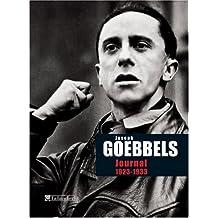 JOURNAL DE JOSEPH GOEBBELS 1923-1933