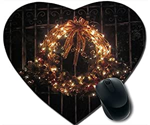 Beautiful Christmas Wreath Mouse Pad Desktop Mousepad Laptop Mousepads Comfortable Office Of Mouse Pad Mat Cute Gaming Mouse Pad