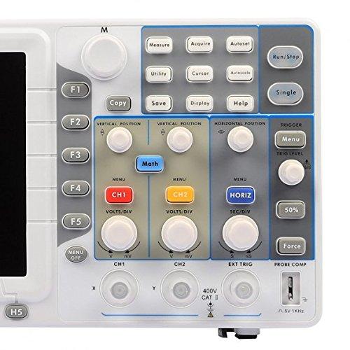 OWON LCD 800*600 Screen Digital Storage Oscilloscope SDS5052E 50M by OWON (Image #4)