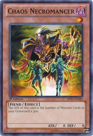 Yu-Gi-Oh! - Chaos Necromancer (BP01-EN183) - Battle Pack: Epic Dawn - 1st Edition - Common