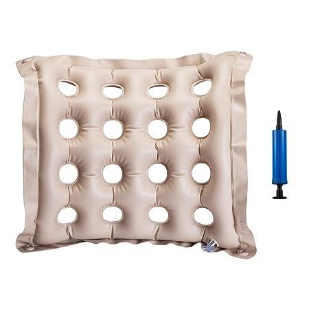 ZunBo - Cojín Hinchable para sillas de Ruedas (48 x 48 cm ...