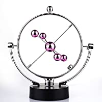 Miss.AJ Electronic Perpetual Motion swing ball Promise magnetic tracker Rose Red Wing